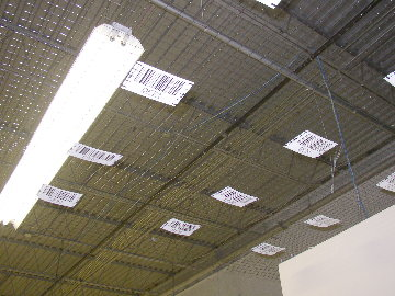 photo of Sky-Marx netting in warehouse