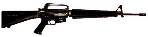 photo of M16A2 battle carbine from US Army training manual