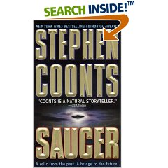 Cover of Saucer by Stephen Coonts